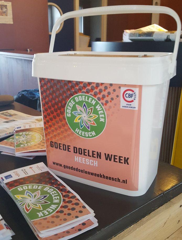 De eerste gezamenlijke collecte van zestien fondsen in Heesch was een succes.