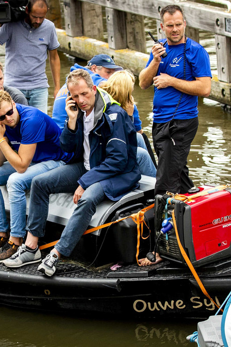 Huisarts uit Zwolle begeleidt Van der Weijden opnieuw: 'Hij had het vorig jaar al kunnen halen'