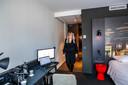 thuiswerken in hotel office in mercure hotel tilburgverhaal stan schrijen