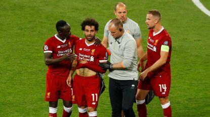 """Egyptische voetbalbond stelt gerust: """"Salah heeft slechts schouder verstuikt, we zijn optimistisch voor WK"""""""