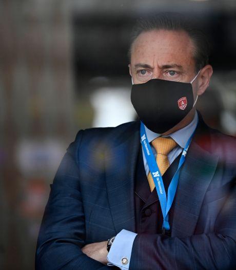 """De Wever sur le dossier Let's Go Urban: """"Ne pas inverser les rôles entre la victime et le cambrioleur"""""""