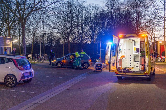 De schietpartij bij het Mheenpark waarbij twee gewonden vielen.