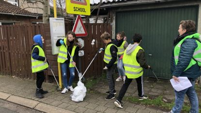KLIMAATACTIE. Leerlingen gaan niet betogen, maar maken gemeente schoon
