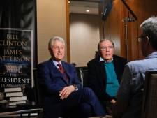 Bill Clinton schrijft opnieuw boek met thrillerauteur Patterson