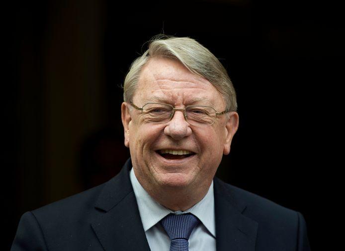 Hans Hillen toen hij in 2011 demissionair minister van Defensie was.