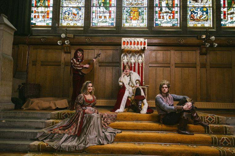 Koning Krikke in zijn kasteel. Beeld Fernando Barrientos