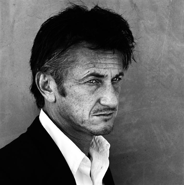 Sean Penn,  Los Angeles 2011. Beeld Anton Corbijn