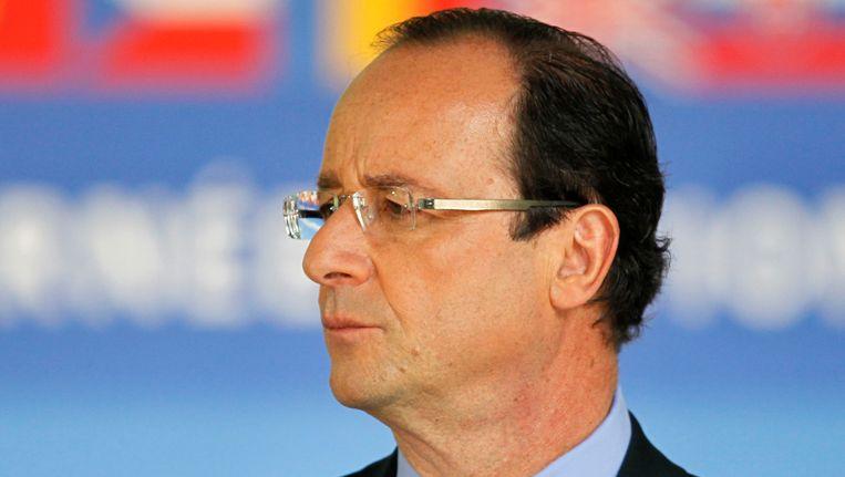 François Hollande. Beeld REUTERS