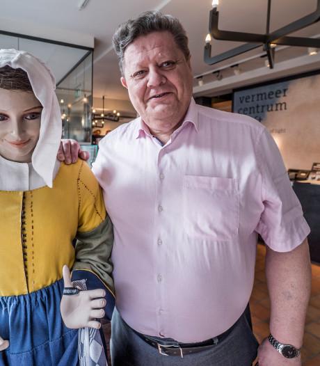 Herman Weyers, Sinterklaas met liefde voor Vermeer en Delft