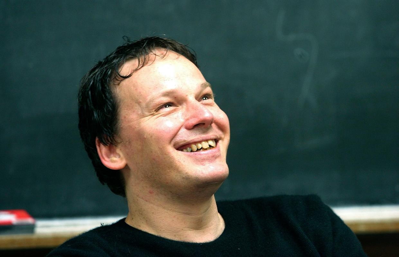 Antropoloog David Graeber. Beeld AP