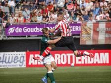 Sparta-hoop Tom Beugelsdijk is weer terug na  blessureleed: 'Vanaf de tribune toekijken is niks'