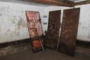 Oude deuren in de schuilkelder Foto's: Geldersch Landschap