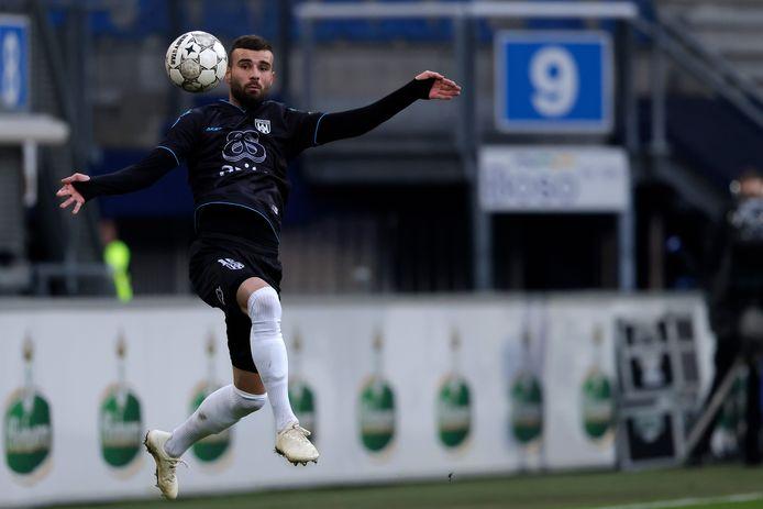 Middenvelder Rai Vloet is de topscorer tot nu toe. Spits Sinan Bakis scoorde nog niet een keer.