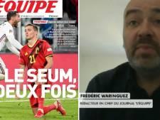 """Le rédacteur en chef de l'Équipe revient sur la Une polémique après France-Belgique: """"Aucune volonté de méchanceté"""""""