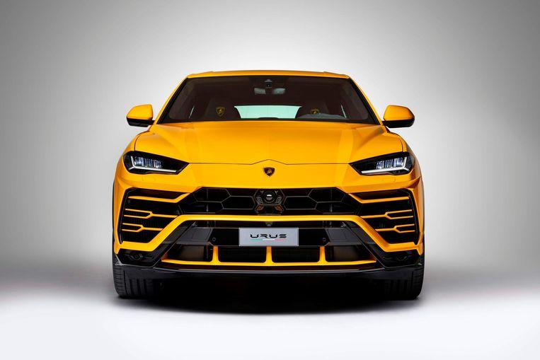 Snel wegwezen met een nieuwe Lamborghini Urus? Nee, dat zit er niet in. Beeld afp