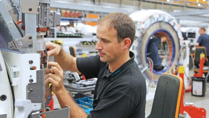 Net zoals Philips in Best, renoveert Siemens Healthineers onder meer ct-scanners voor de tweedehandsmarkt.