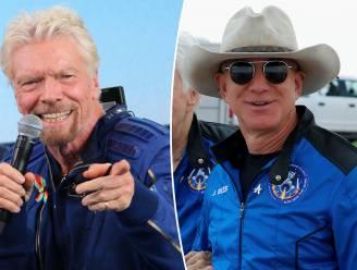 Koude douche voor Richard Branson en Jeff Bezos: miljardairs mogelijk toch geen astronaut