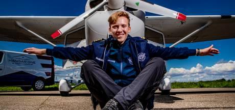 Tiener Travis vliegt solo 40.000 km rond de wereld: eindpunt Teuge is in zicht