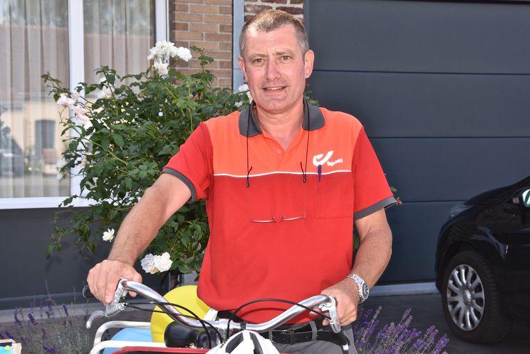 Postbode Luc Decorte gaat met pensioen