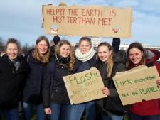 Duizenden scholieren bij klimaatmars: 'We moeten nu iets doen'