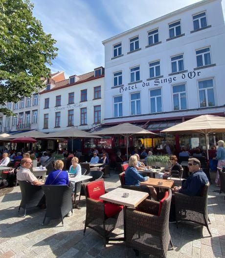 """Staat Brugge straks vol terrassen? """"Waar dat verkeersveilig kan, moet zelfs meer dan een verdubbeling mogelijk zijn"""""""