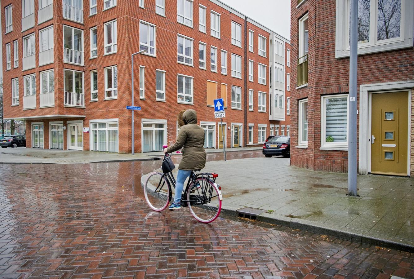 De dochter werd op de hoek Slaghekstraat/Beukelaarsstraat mishandeld.