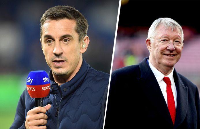 Manchester United-iconen Gary Neville en Alex Ferguson zijn bijzonder kritisch voor de Super League.
