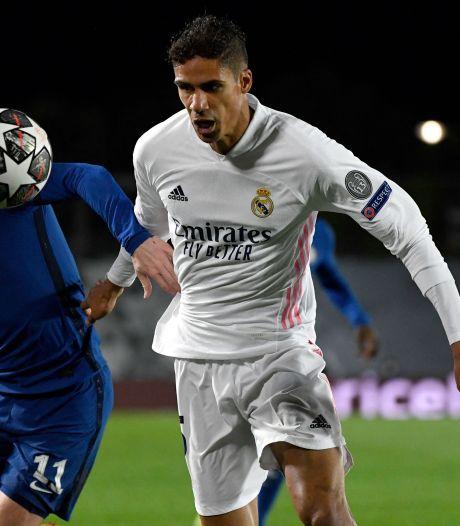 Real Madrid zonder geblesseerde Varane tegen Chelsea