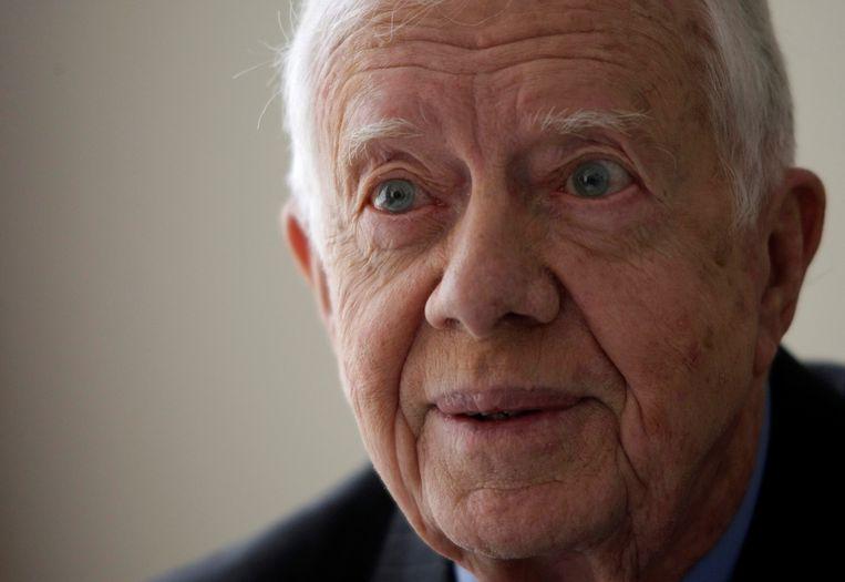 Jimmy Carter in 2009. Beeld REUTERS