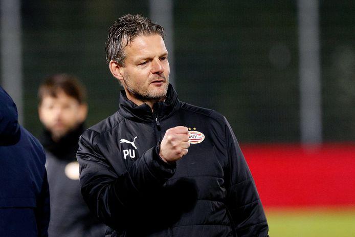 Peter Uneken neemt na dit seizoen afscheid als trainer van Jong PSV en doet dat met een goed gevoel.