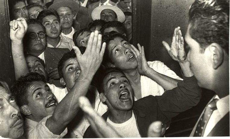 Met het driedaagse programma 'The May Events' blikt het Kunstenfestivaldesarts terug op de studentenprotesten van mei '68. Beeld Archivo General de la Nacion (AGN) Mexico