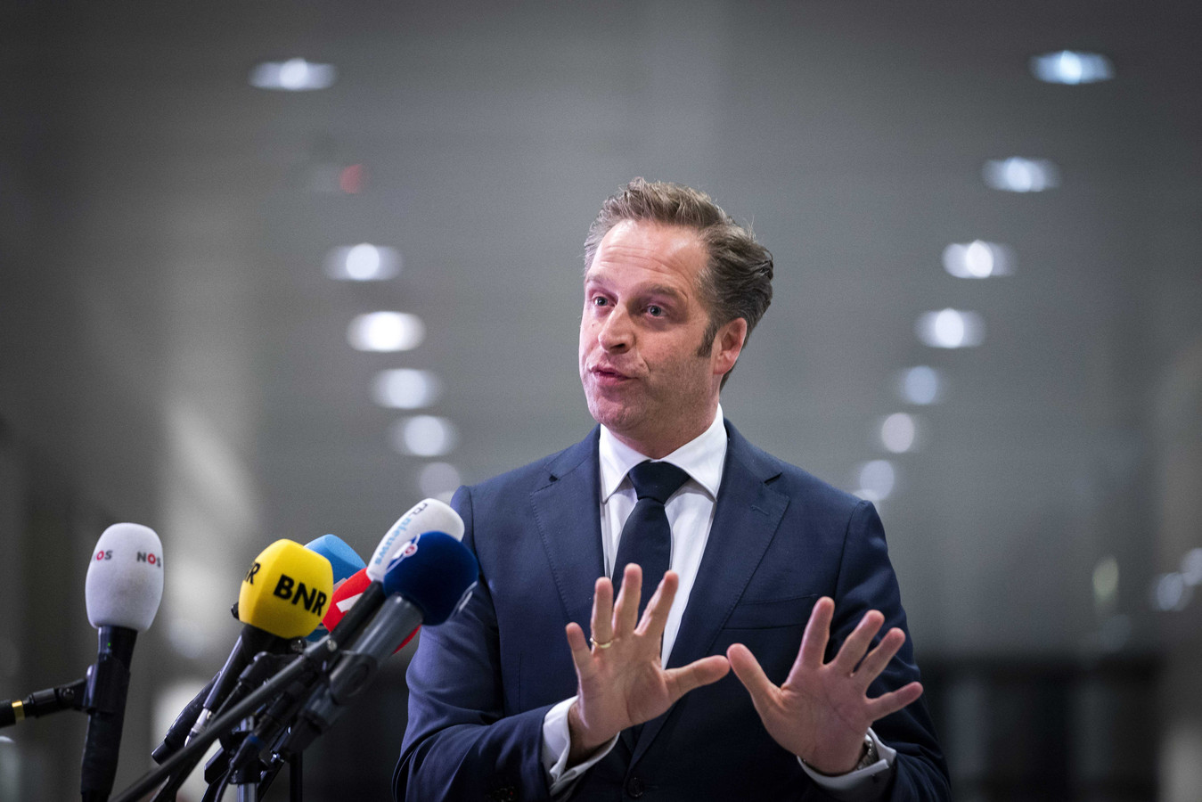 Demissionair minister Hugo de Jonge (Volksgezondheid)