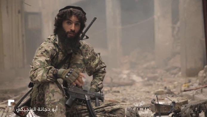 Tarik Jadaoun apparaît dans une nouvelle vidéo de propagande diffusée par l'Etat islamique depuis Mossoul en Irak.