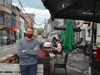 Café In Den Keizer sluit uitgebreid terras voorlopig door slechte weer