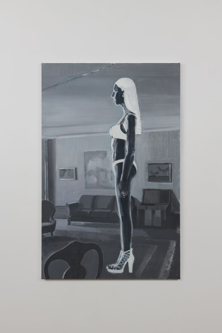 Vrouw in bikini, 2021. Beeld Alex van Warmerdam / courtesy GRIMM