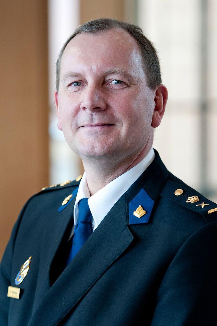 Waarnemend districtschef Pim Miltenburg van Politie Oost-Nederland.