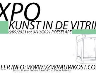 """Kunstexpo vult leegstaande vitrines: """"Win-winsituatie voor pandeigenaar, kunstenaar en shopper"""""""