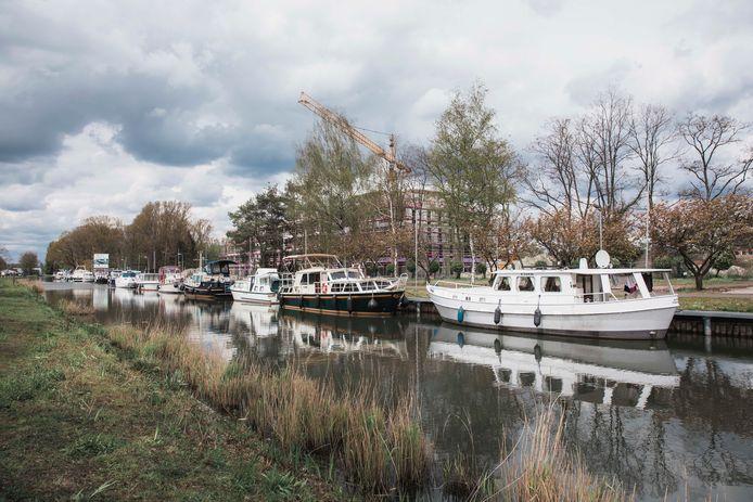 Het kanaal in Leopoldsburg, op termijn wellicht een hotspot in de gemeente.