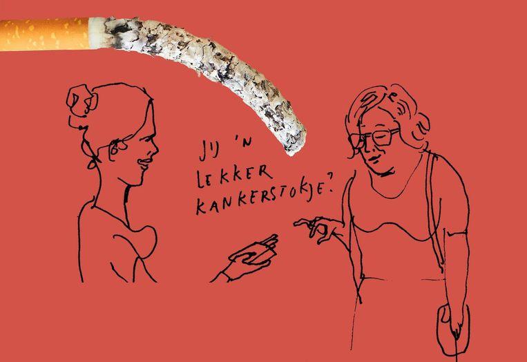 Stoppen met roken. Beeld Paul Faassen