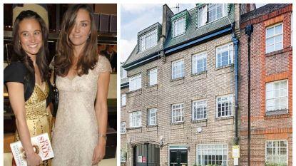 BINNENKIJKEN. Kate en Pippa Middleton verkopen het Londense huis waar ze samen woonden