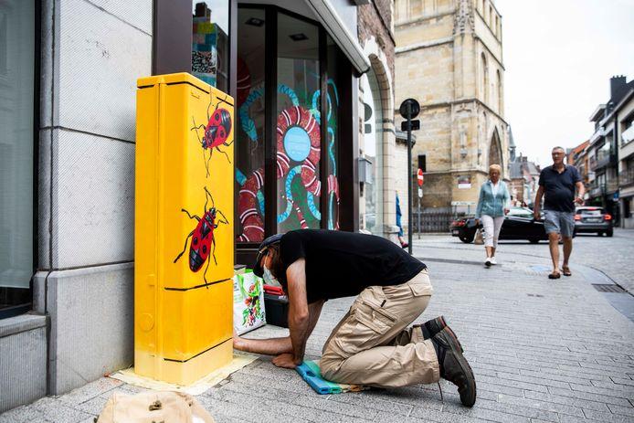 Kastkunst in Sint-Truiden.