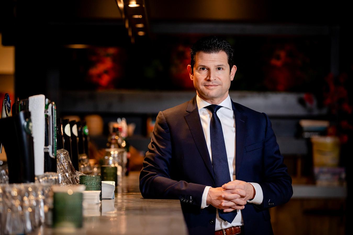 Dirk Beljaarts, directeur van Koninklijke Horeca Nederland.