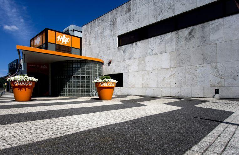 Het exterieur van het gebouw van omroep MAX op het Mediapark. Beeld anp