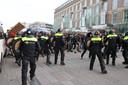 Rellen in het centrum van Eindhoven.