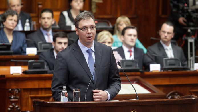Le nouveau Premier ministre Aleksandar Vucic