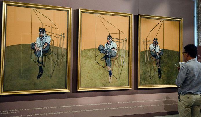 Het drieluik 'Drie studies van Lucian Freud' werd in 2013 verkocht voor 120,6 miljoen euro.