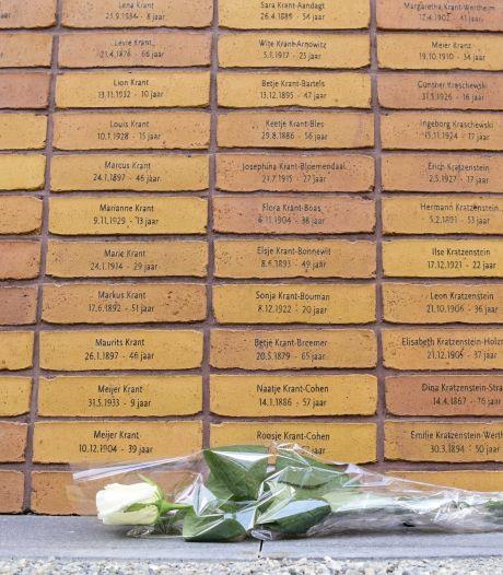Indrukwekkend Holocaust Namenmonument met 102.000 stenen uit Rossumse fabriek van Rodruza