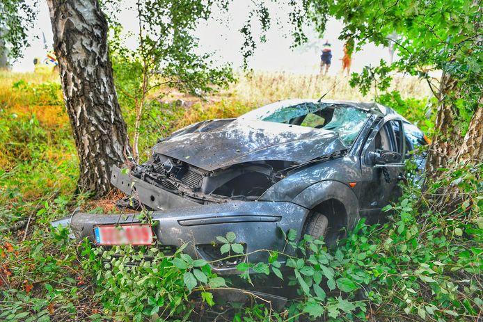 Vrouw naar ziekenhuis na ongeluk in Eersel.