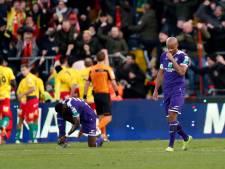 Inquiétant, Anderlecht coule à Ostende et s'éloigne un peu plus des playoffs 1