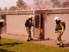 Veel schade bij schuurbrand in Sprang-Capelle